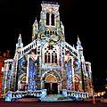 Biarritz, Biarritz en lumières 2016, église Sainte Eugénie, révélations
