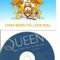 Queen I was born to love you cd's promo France