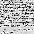 Bonnier Jeanne_mariage 9.5.1758_Louisbourg, Canada