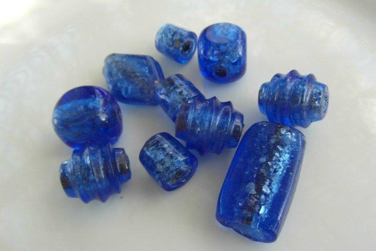 grosses perles bleu 5