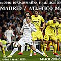 Real madrid ~ athetico madrid