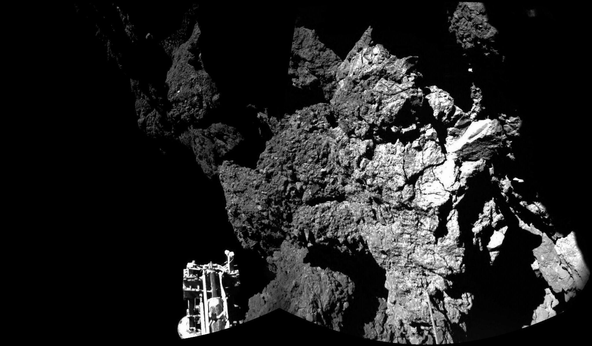 Sol de la comète 67P