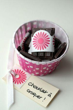 cadeau gourmand mini tablettes de chocolat blog chez requia