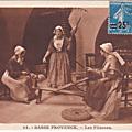 Basse Provence - Les fileuses
