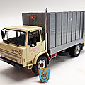 Berliet gc 190 bom.1977. ixo pour hachette. collection berliet. #41. 1/43.