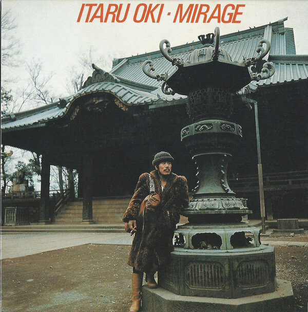 Itaru Oki Mirage cd cover