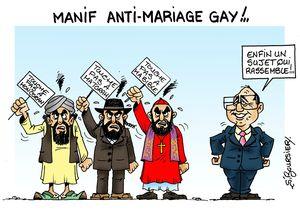Mariage anti gay web