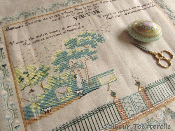 Mary Pets 1831 sampler 01 1