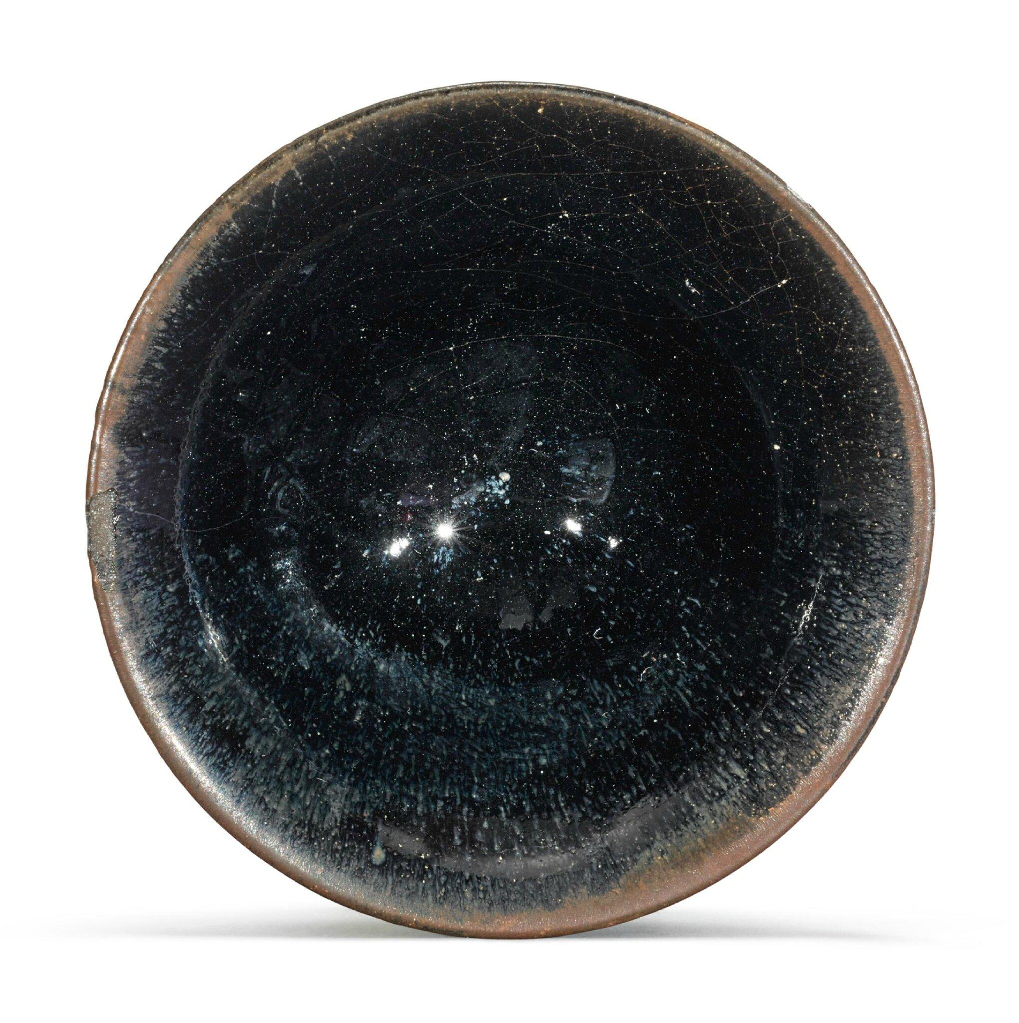 A small 'Jian' black-glazed bowl, Song Dynasty (960-1279)