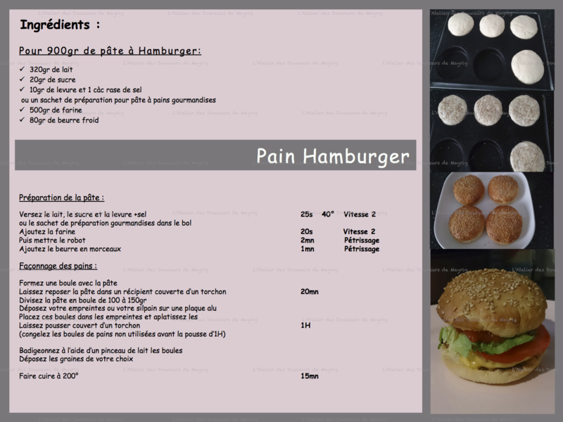 PAIN HAMBURGER