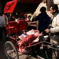 Livreur de viande..., service express non réfrigéré, Ajmer