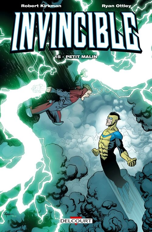 delcourt invincible 15 petit malin
