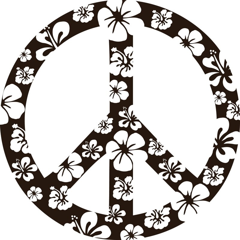 sticker_peace_and_love_flower