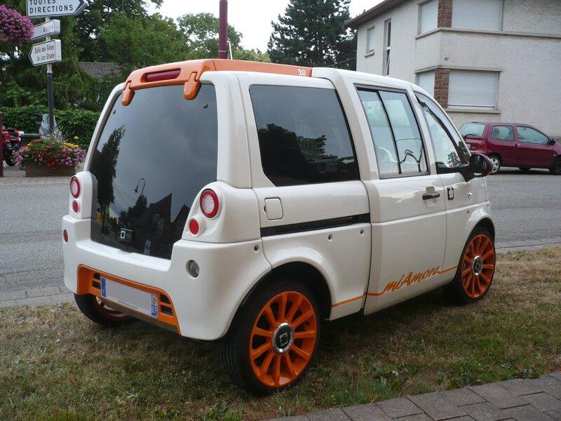 MIA ELECTRIC Mia miAmore voiture électrique 2013 Entzheim (2)
