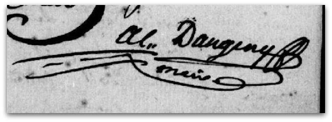 Amant-Antoine maire signature Z