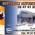 Berthault automobiles