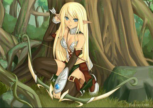 Elfe Et Fée