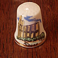 Collezione di ditali . thimbles collection- collection de dés