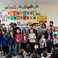 Assemblée d'enfants de lancement du projet pour l'année