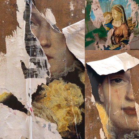 Affiches déchirées Venise