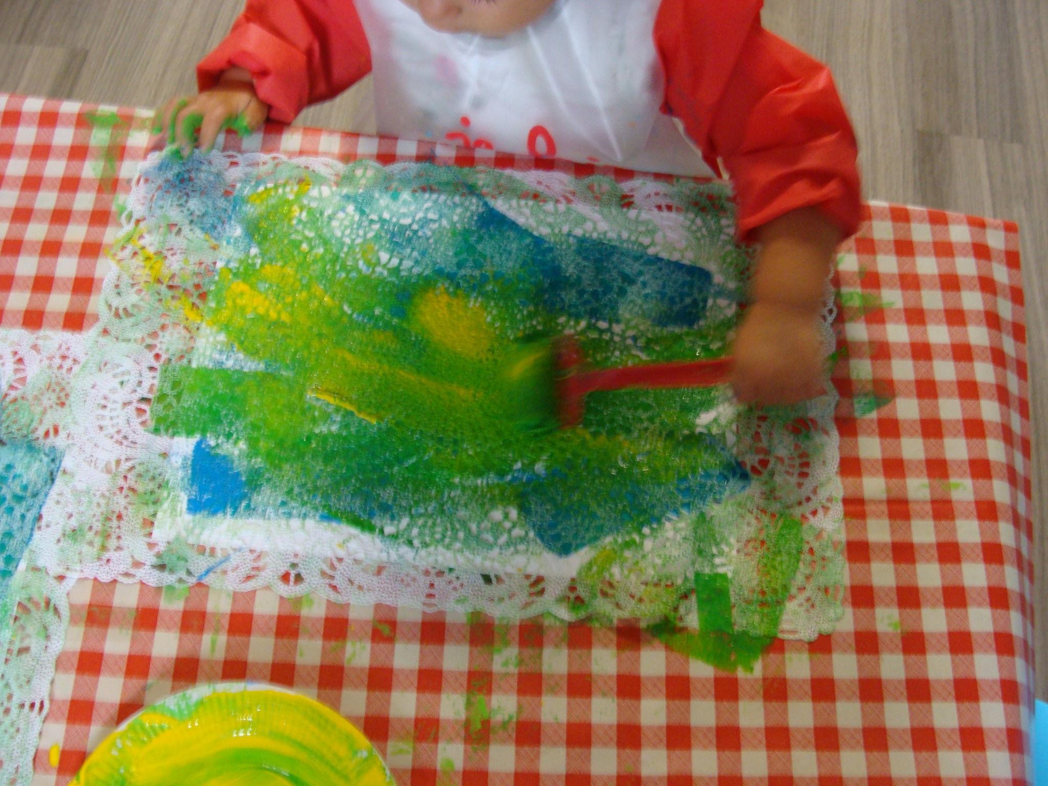 Comment Peindre De La Dentelle on fait dans la dentelle ! - ribambelles