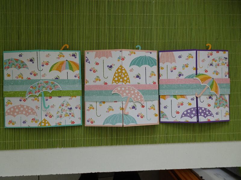 31a Cartes parapluies théoriquement atelier chez Clo