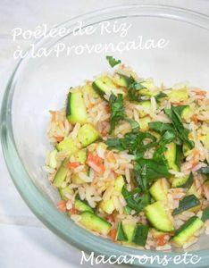 Poêlée de riz à la Provençale 1