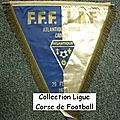 10 - ligue corse de football - album n°232 - fanions