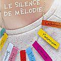 Le silence de mélodie