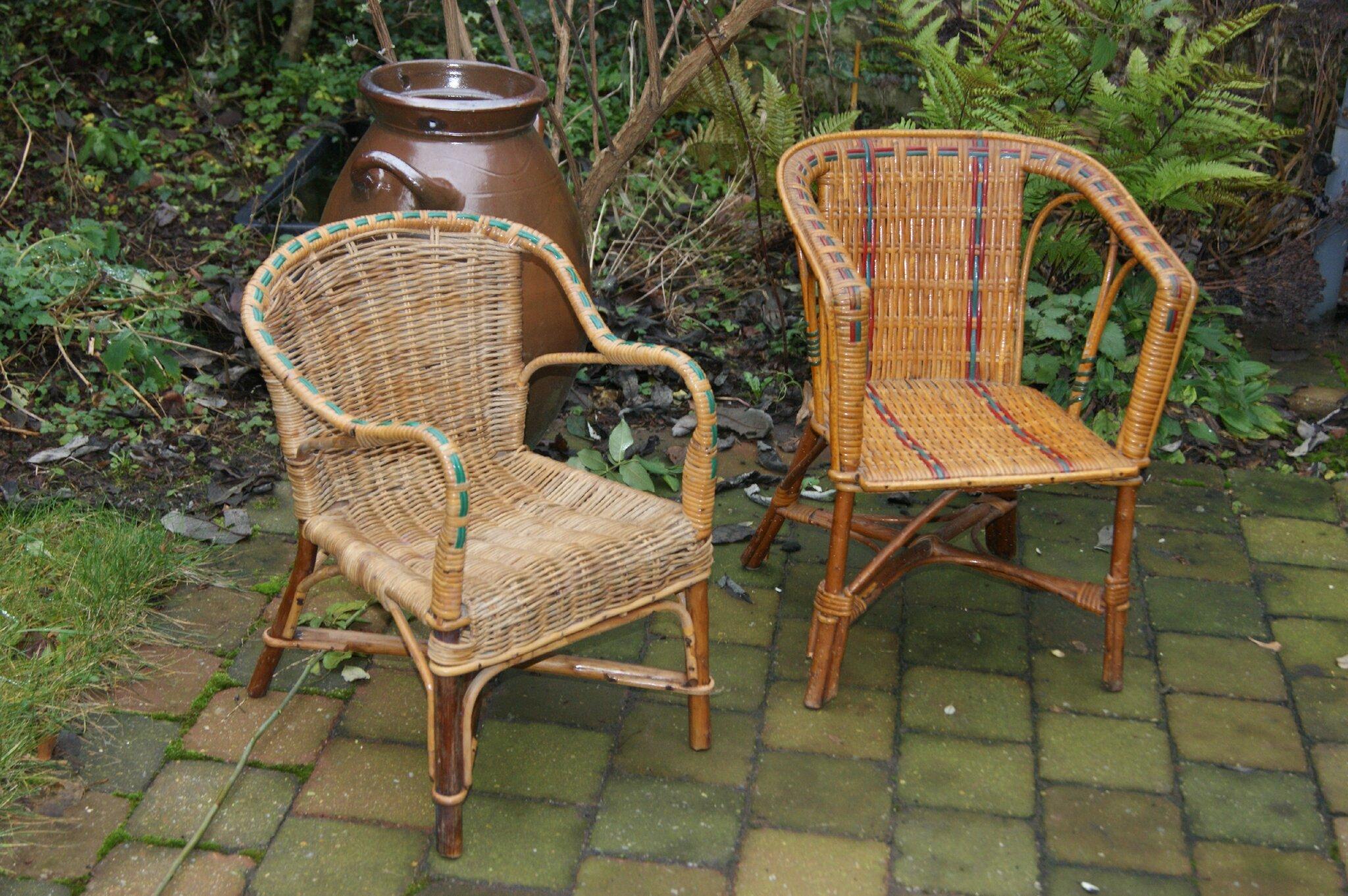 fauteuil enfant osier vintage goldies. Black Bedroom Furniture Sets. Home Design Ideas