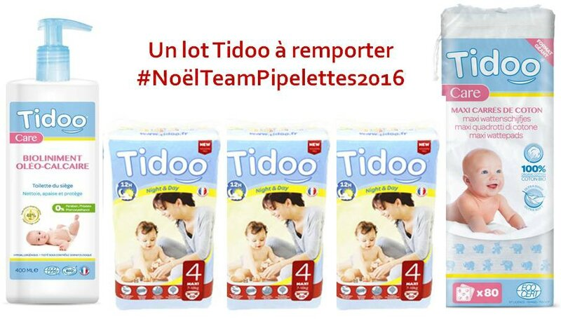 Concours Tidoo #NoëlTeamPipelettes2016