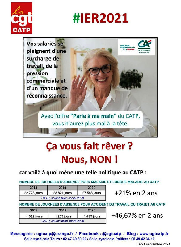 Surcharge travail 09 - 2021