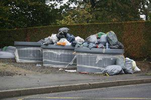 Avranches rue du Motté ordure poubelles déchets C3A