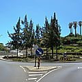 Rond-point à funchal (portugal)