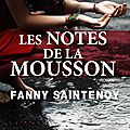 Les notes de la mousson, fanny saintenoy : de paris à pondichéry