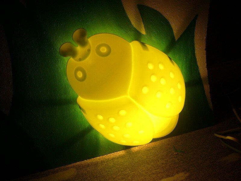 lampe de la chambre de mon fils Maël
