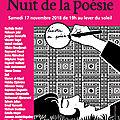 Nuit de la poésie à l'institut du monde arabe, à paris (1)