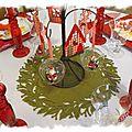 Table de Noël 130