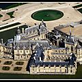 chantilly vu du ciel