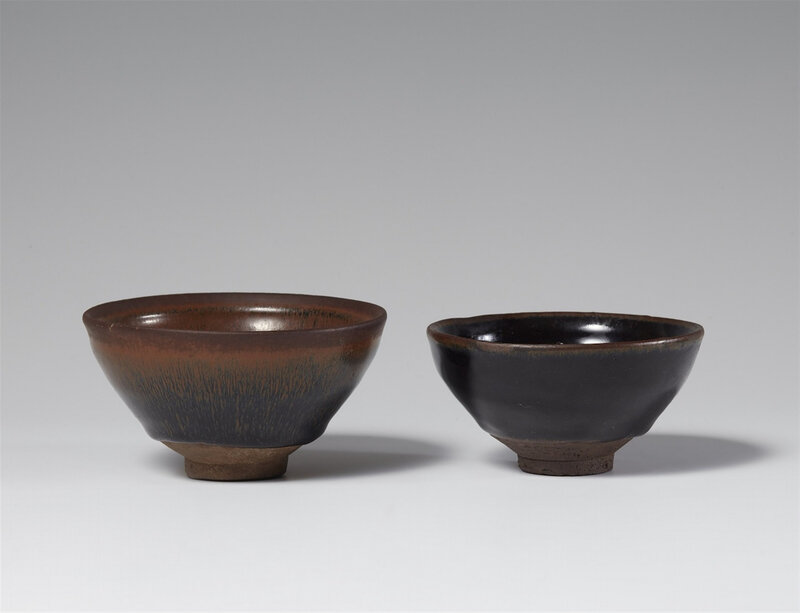 Two Jianyao bowls, Song dynasty (907-1279)