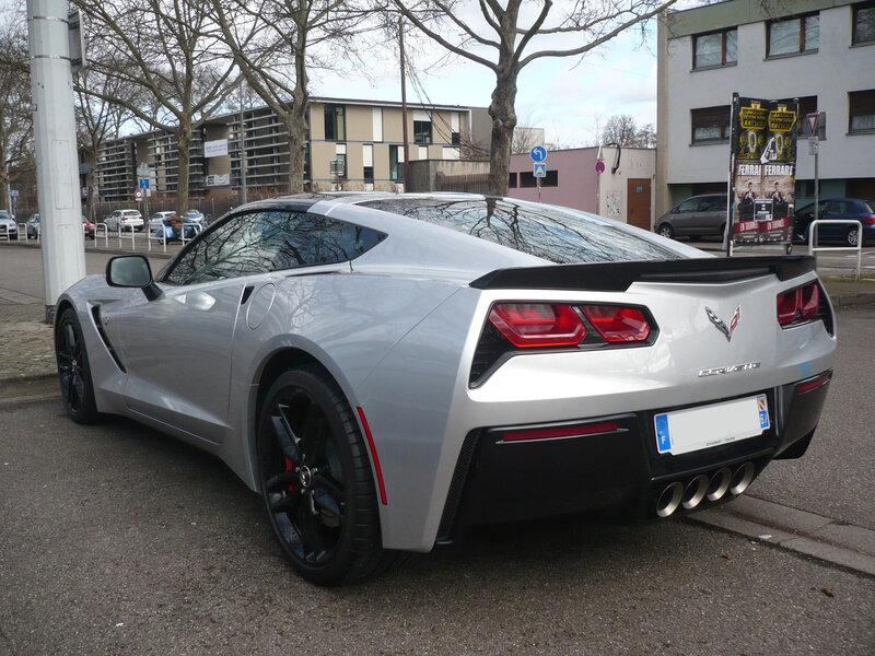 CHEVROLET Corvette C7 2016 Strasbourg (2)