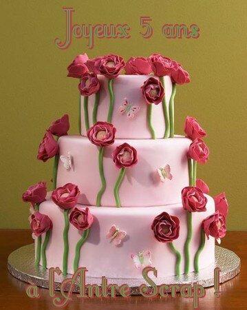 Gâteau 2 avec texte
