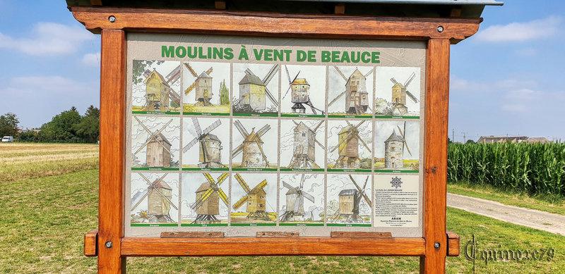 Moulins à vent de Beauce le moulin de Lignerolles