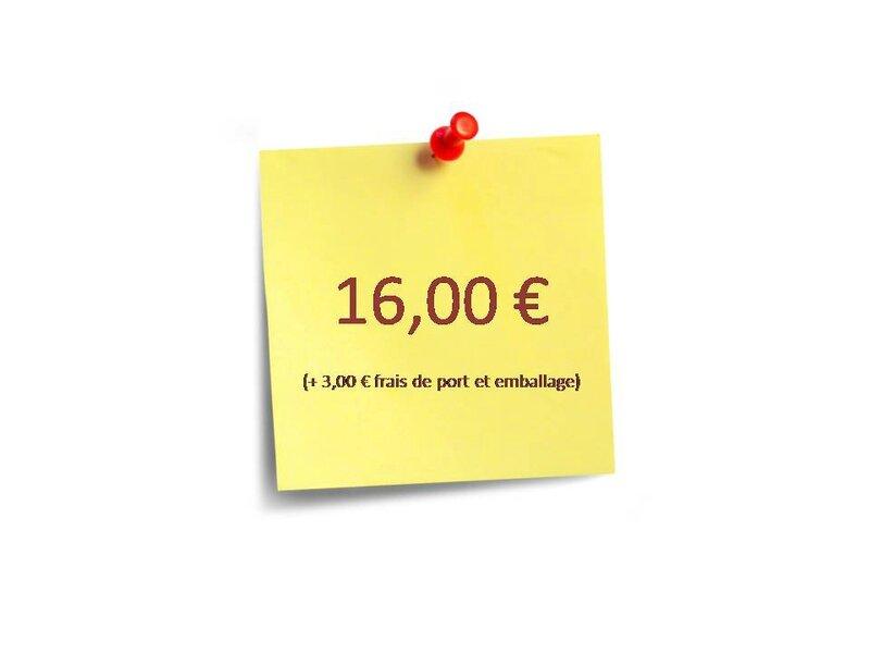 PRIX 16 euros