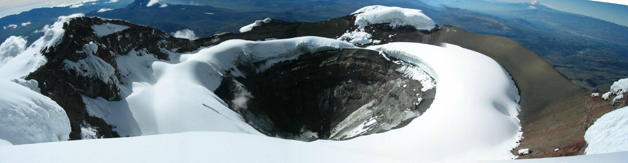 80e jour : El Cotopaxi, 5897m, un obstacle de taille !