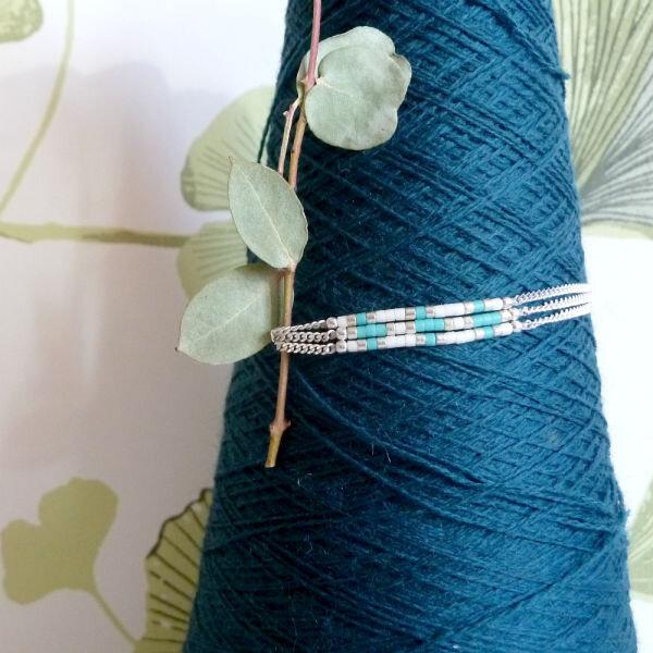 bracelet-multirang-argent-bleu