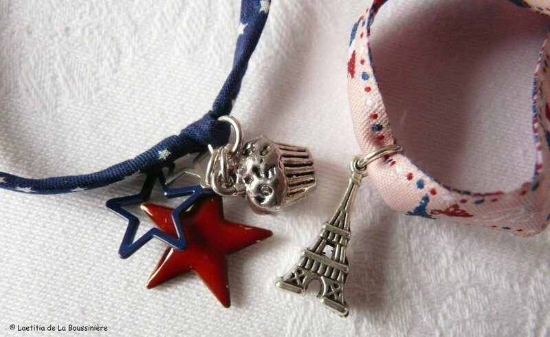 Bracelet US et bracelet Paris (détails)
