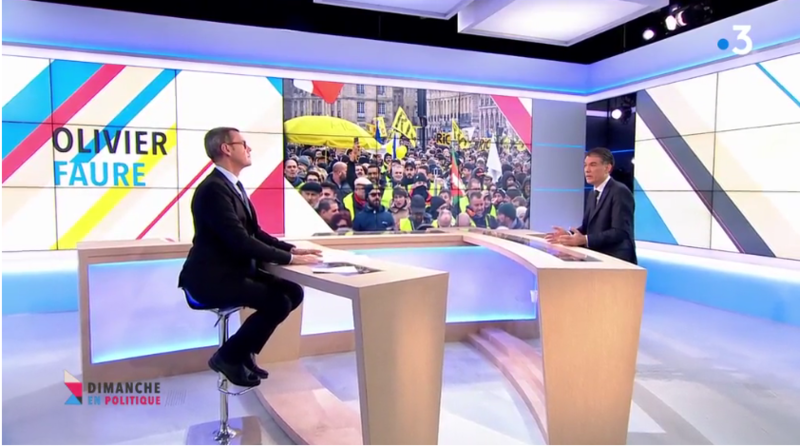OLIVIER FAURE GILETS JAUNES MEDIA DIXIT WORLD
