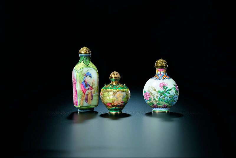 Snuff Bottles from the Mary and George Bloch Collection