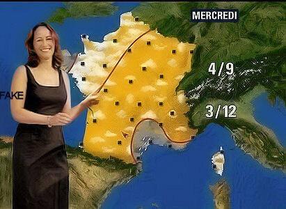 Ségolène Royal, météo